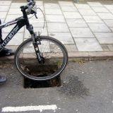 Bike & lethal drain