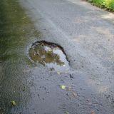 Pothole on Sadler Nook Ln
