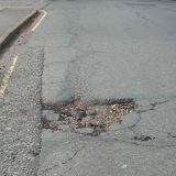 Pothole Unthank Road, Norwich, 21 Sept 2010