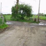 8 May 2014 Slurry outside Cinderbarrow Farm