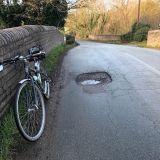 Pothole at Greensforge