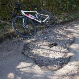 Red Lane pothole